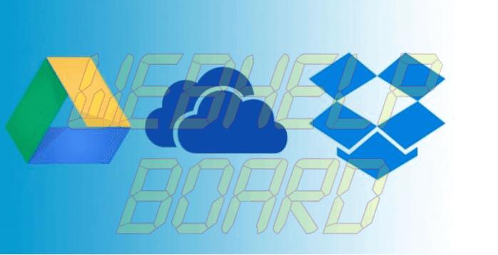 onedrive googledrive dropbox - Ransomware: saiba o que é e como se proteger desse tipo de malware