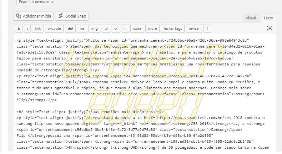 word HTML 1 - WordPress: melhores dicas para entender recursos e criar posts