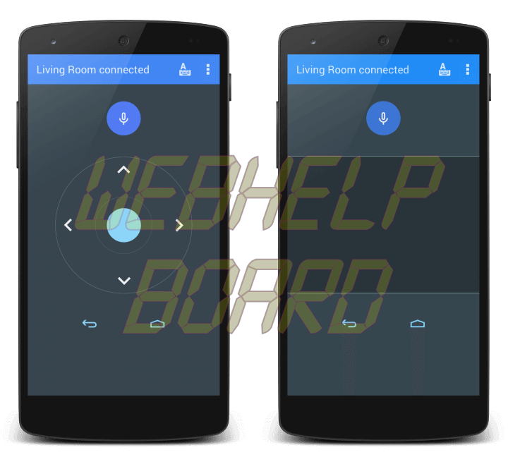android tv remote control app 720x648 - Review: Nexus Player (Android TV do Google e Asus)