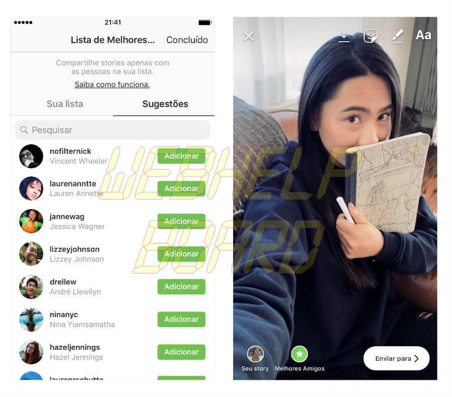 20181130100829 - Tutorial: como criar sua lista de melhores amigos no Instagram Stories