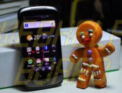 Actualización de GingerBread 2.3 sobre Nexus One