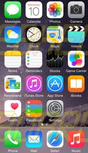 ios8 apple telainicial - Apple lança iOS 8 hoje às 14h. Veja como atualizar