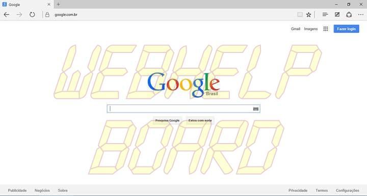 passo 1 edge google smt julian - Tutorial: Como usar a busca do Google como padrão no Microsoft Edge