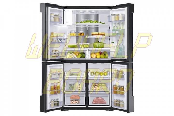 RF22K9581SG 005 Front Open With Food Black Steel e1462383844634 720x480 - Veja dicas de como limpar corretamente seu refrigerador