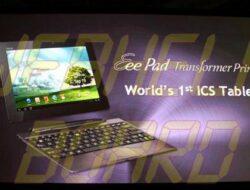 Asus Transformer Prime recibe hoy la actualización de ICS