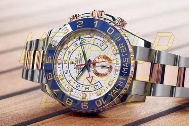 El Viento Manual: Rolex Yachtmaster Everose Gold