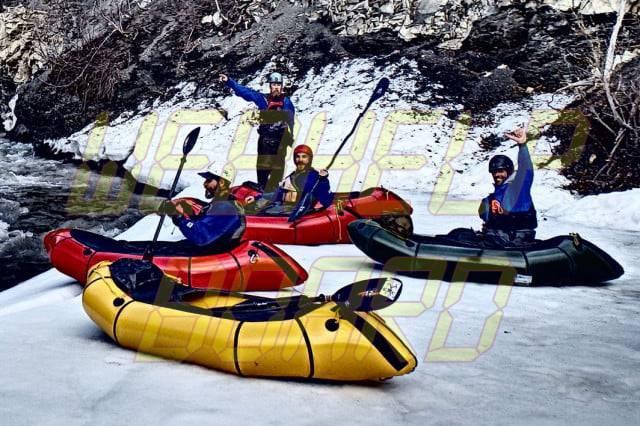 Trekking: El Alpackalypse es una balsa que puedes llevar a aguas bravas