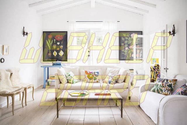 sitios y aplicaciones que hacen que el diseño del hogar decore fácilmente las paredes blancas de aptdeco en el área residencial