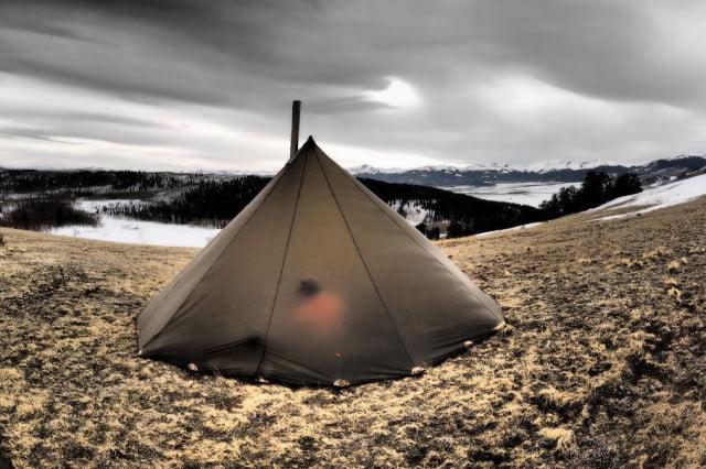Trekking: Cambia tu tienda de campaña de cuatro personas por un tipi con Kifaru