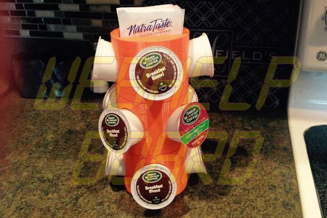 cool things to 3d print stacking k cup storage