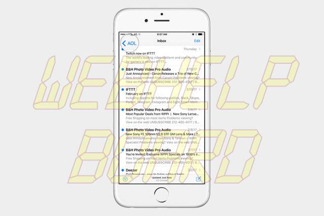 recover ios emails