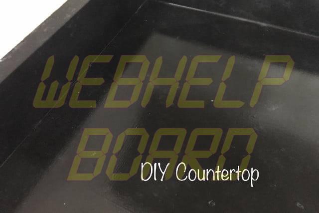 faux granite countertops diy counter 1