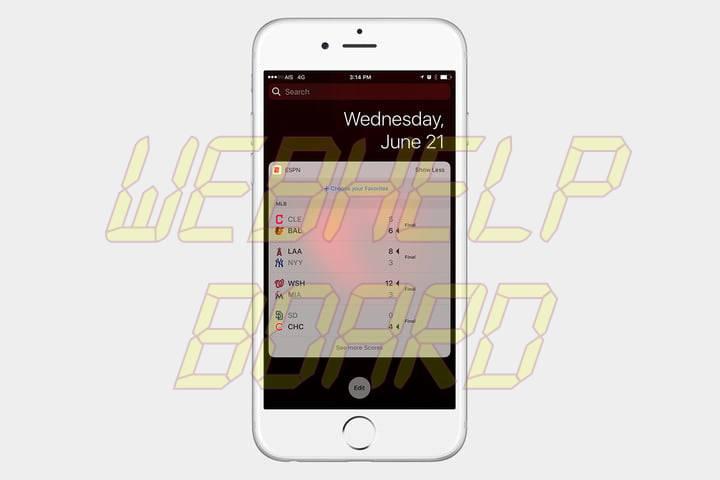 best ios 10 widgets espn