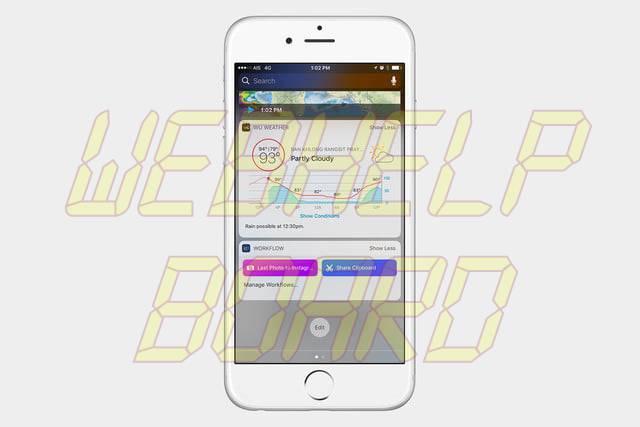 best ios 10 widgets