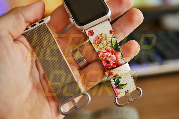 cómo cambiar una banda de Apple Watch