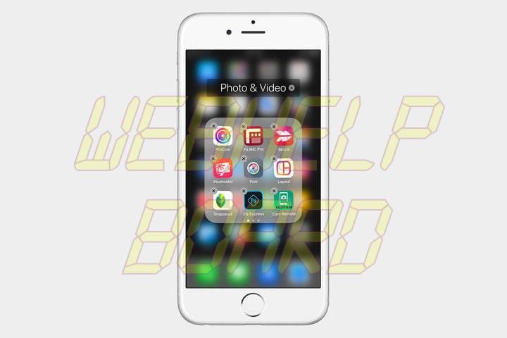 cómo eliminar aplicaciones en un iPhone 3