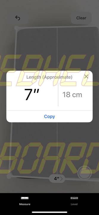 cómo usar la medida app en ios 12 6
