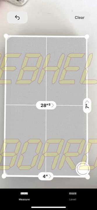 cómo usar la medida app en ios 12 8