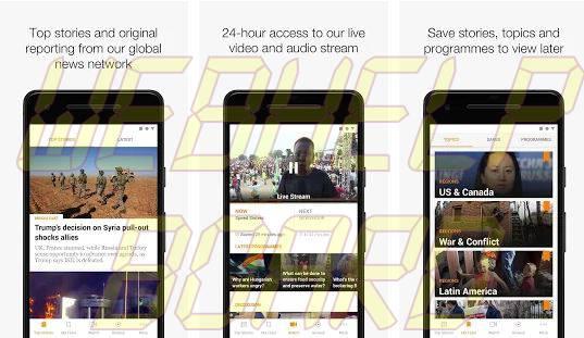 Al Jazeera English app