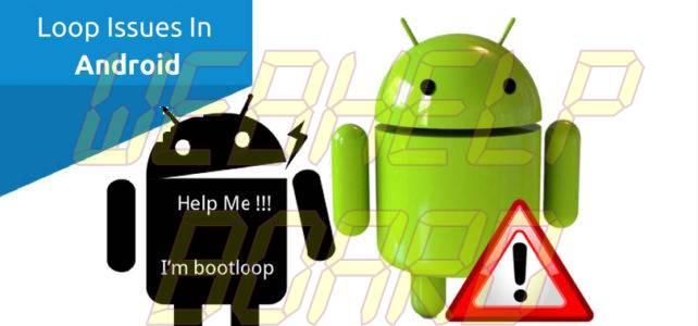 Android atascado en un bucle de reinicio
