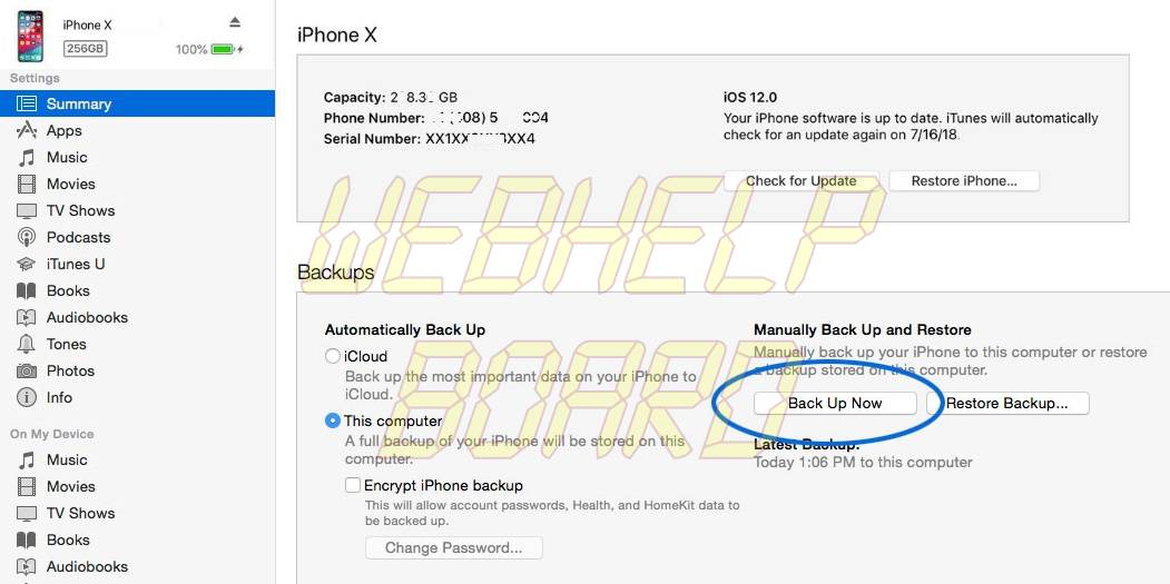 backup-iphone-contacts-to-itunes