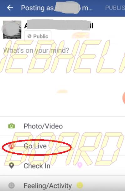 Cómo usar Facebook Live en Smartphone-2