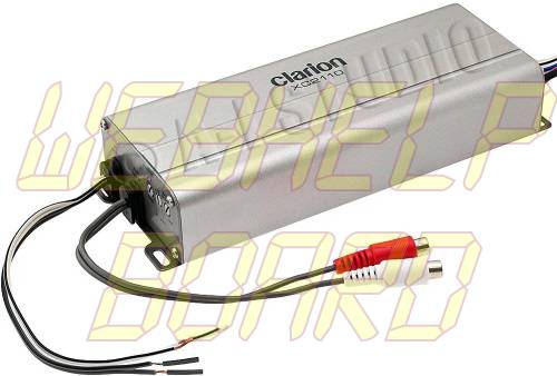 Clarion XC2110 Micro Size Mono Class D Marine Amplifier