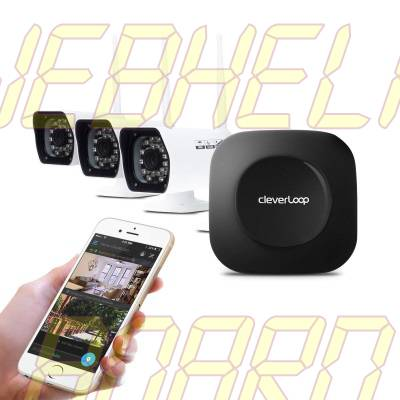 Cleverloop Smart Wi-Fi Security Camera System