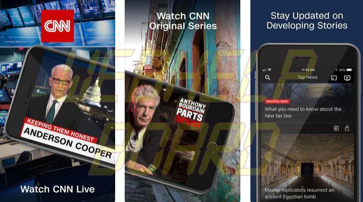 CNN news app