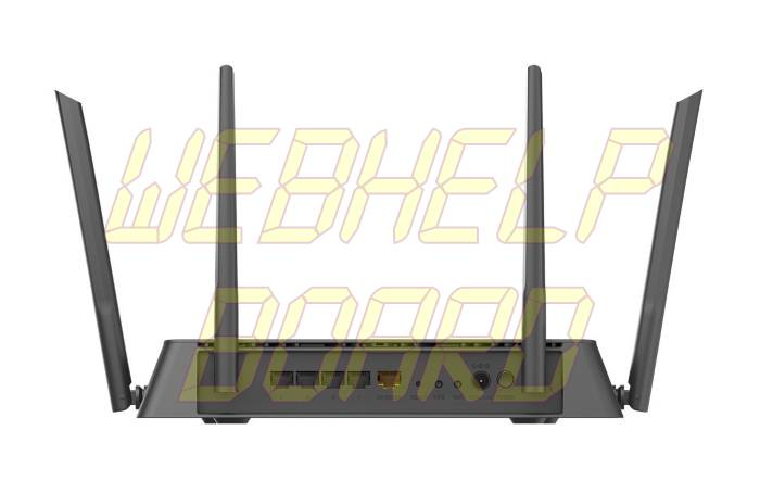 D-Link AC1900 Wireless WiFi Router-back
