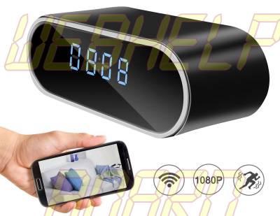 DareTang HD 1080P Wifi Hidden Camera Alarm Clock