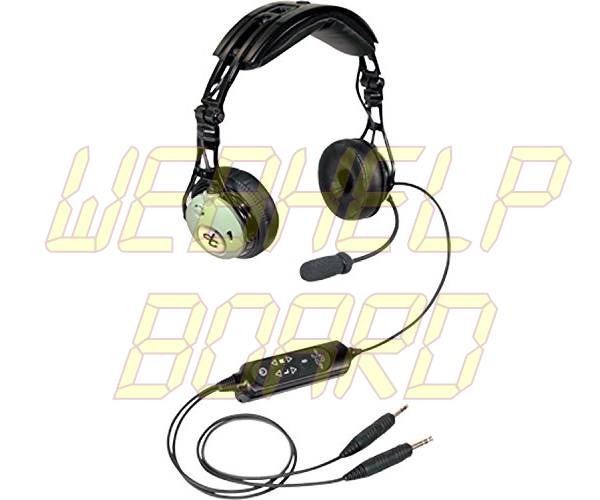 David Clark DC PRO-X Hybrid Electronic Noise-Cancelling Aviation Headset