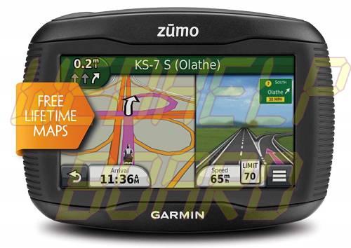Garmin Zumo 390LM Motorcycle GPS Navigator