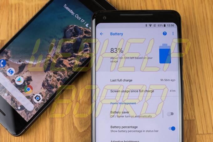 Google Pixel 2 XL Battery Life