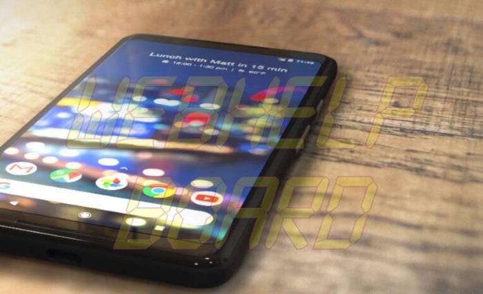 Google Pixel 2 XL Diseño y Pantalla