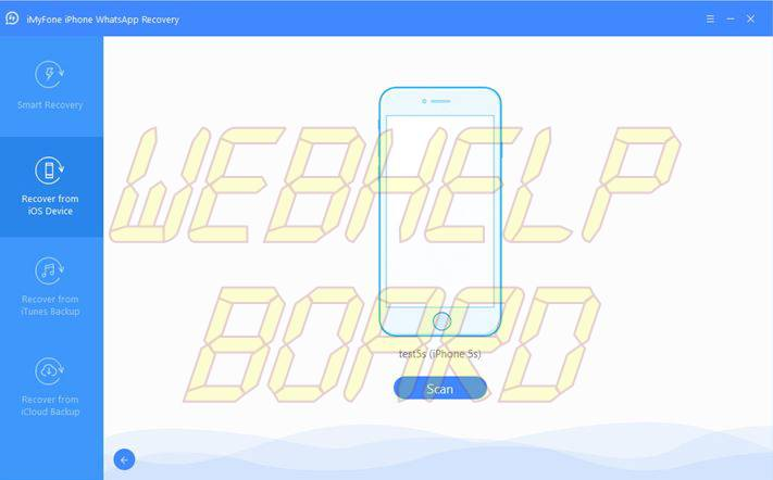 iMyFone D-Back iPhone WhatsApp Recovery-3