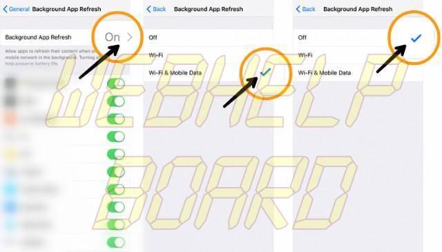 ios 11 disable background app refresh ios 12