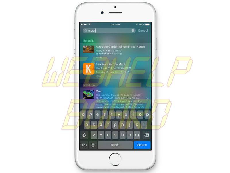 iOS 9 Search Showing Too Many Results? Aquí hay una solución simple