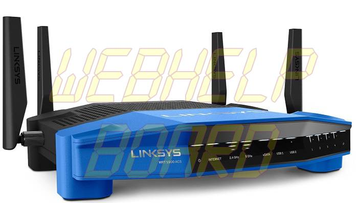 Linksys AC1900 Dual Band Open Source WiFi Wireless Router