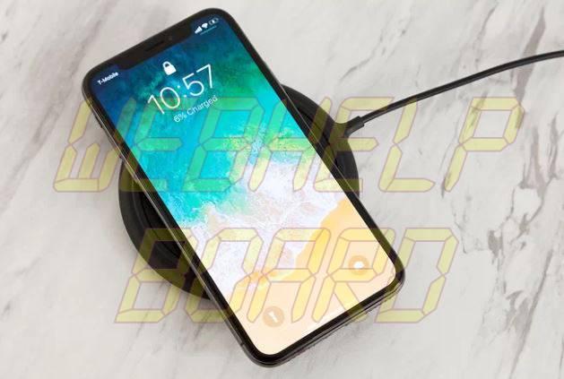 Problema de carga inalámbrica iPhone X