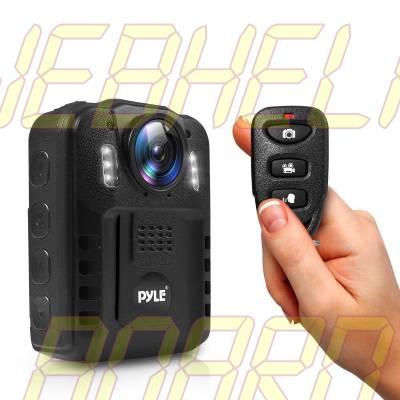 Pyle Wireless Wearable Body Camera