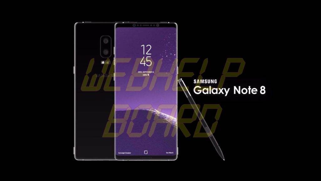 Samsung Galaxy Note 8 - Features and Specification