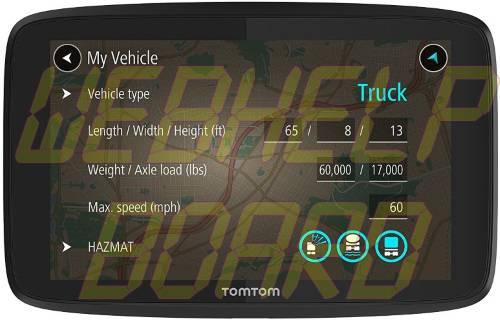 TomTom Trucker 620