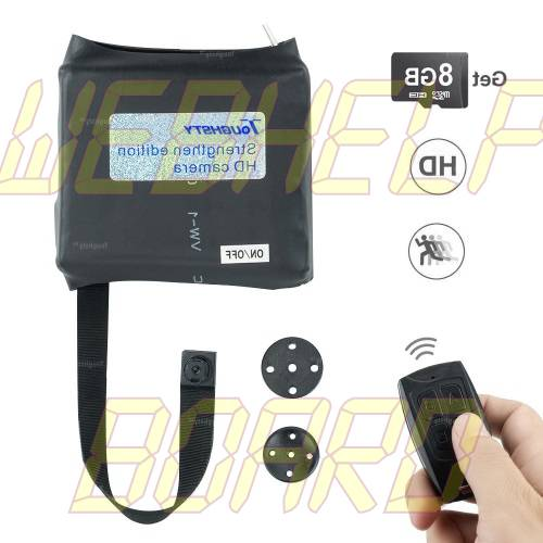 Toughsty 8GB Mini Spy Shirt Button Camera
