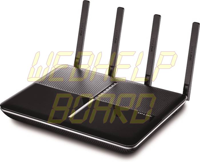 TP-Link AC2600 Wireless Wi-Fi Gigabit Router with 4-Stream Technology - Front