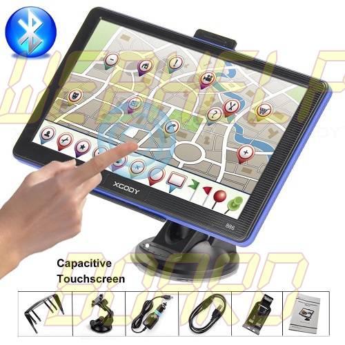 Xgody Portable Car Truck GPS Navigation 886