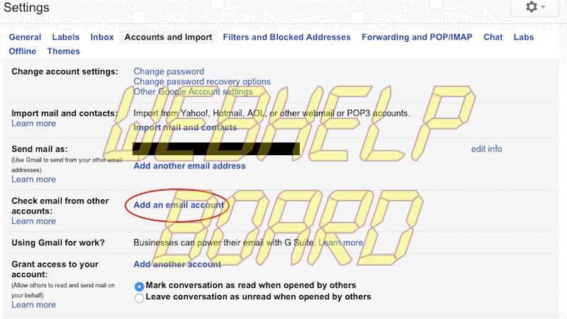 administrar otra cuenta gmail