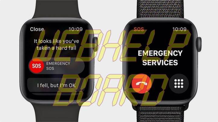 Apple Watch 4 Emergency Services Fall Detection