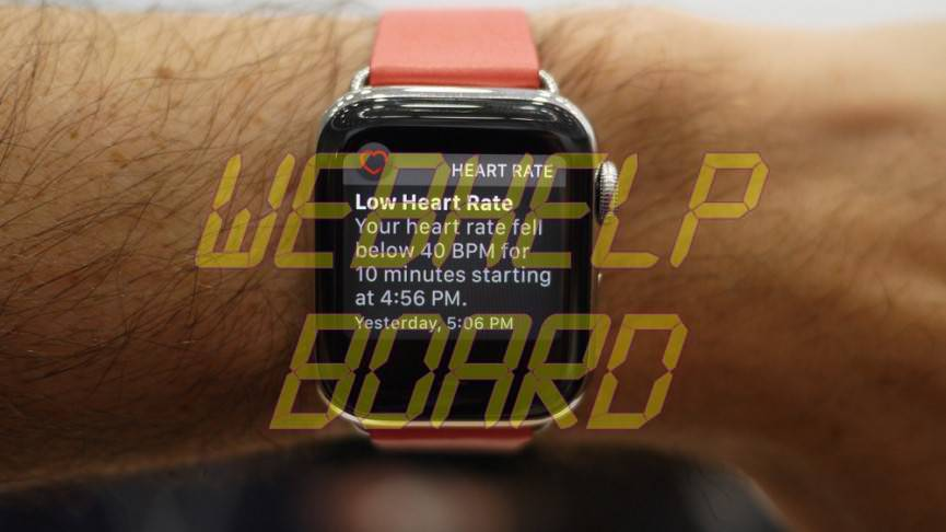 Apple Watch 4 Enable Heart Rate Notification
