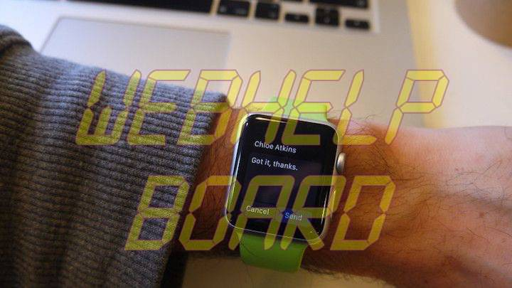 Apple Watch 4 Reply From Wrist Shortcut